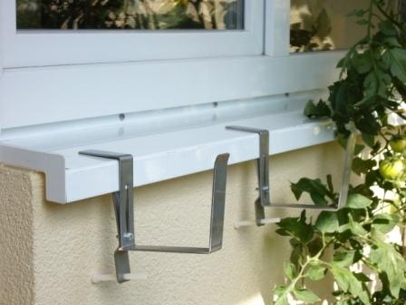 Fensterbankhalterung Für Blumenkästen Von Vario Fix 12 Cm